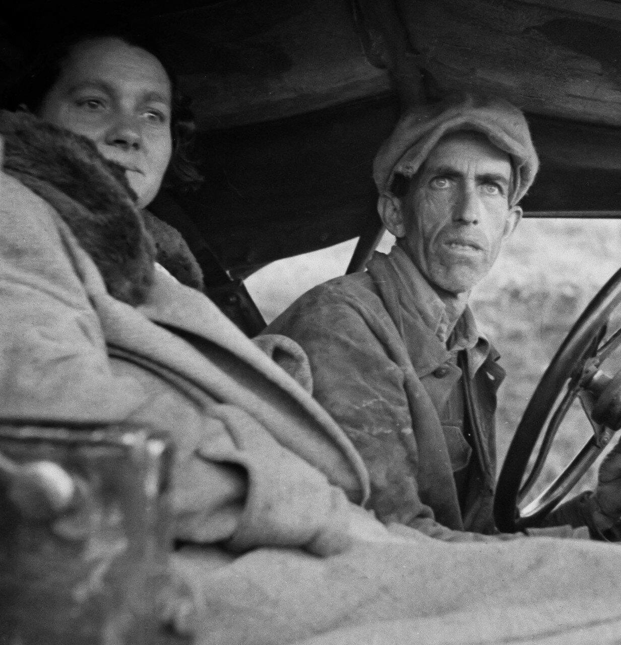 1939. Бывший фермер из Миссури, сейчас батрак. Калифорния