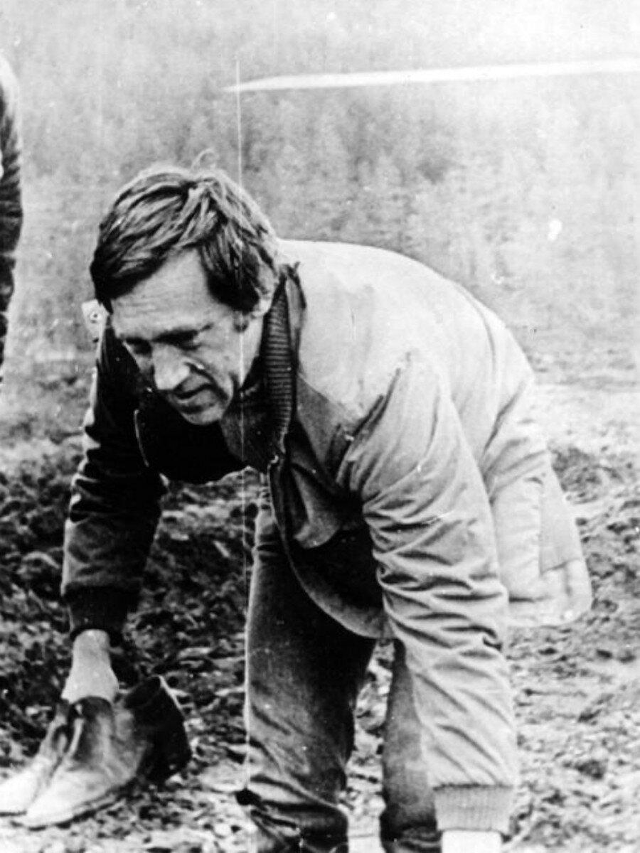 51. Владимир Высоцкий в Иркутской области. Фото Сергея Геннадьевича Зимина, 17 июня 1976 года.