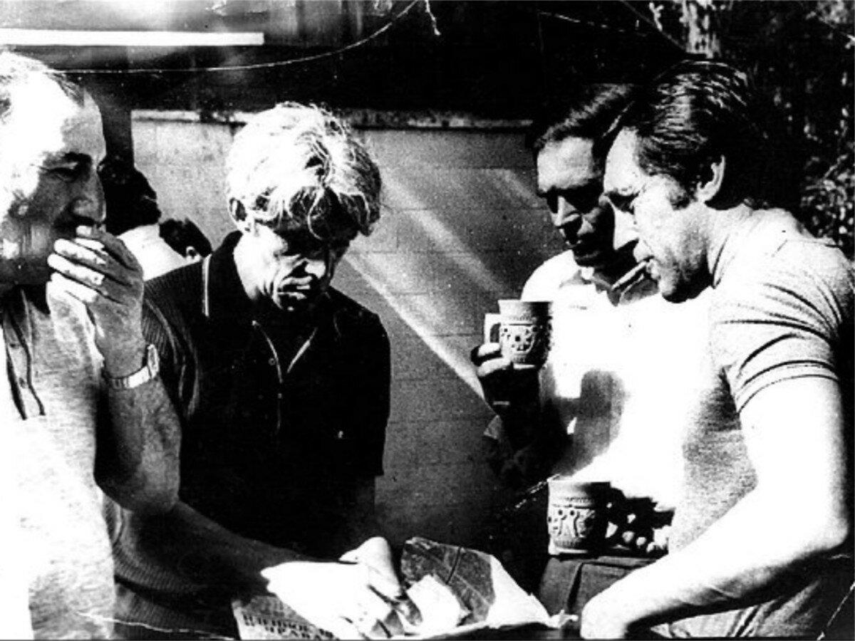 88. Владимир Высоцкий в Иркутской области. Фото Леонида Васильевича Мончинского, 20 июня 1976 года