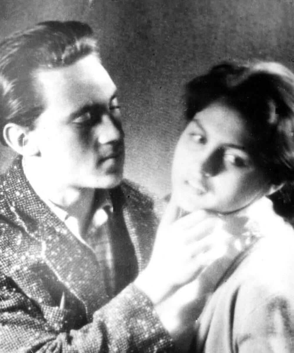 1956. Владимир Высоцкий и Аза Лихитченко