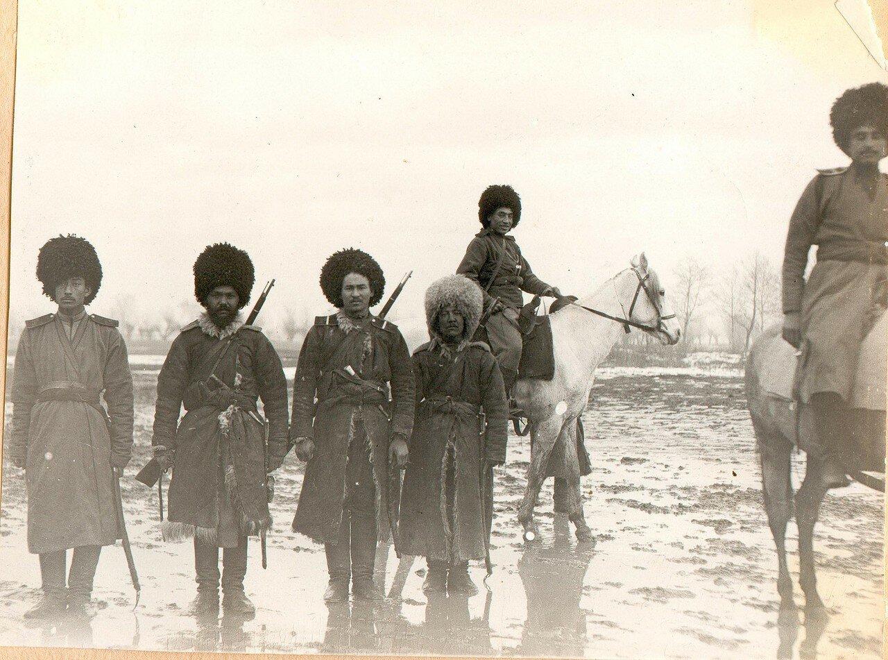 Текинцы Туркменского конного полка