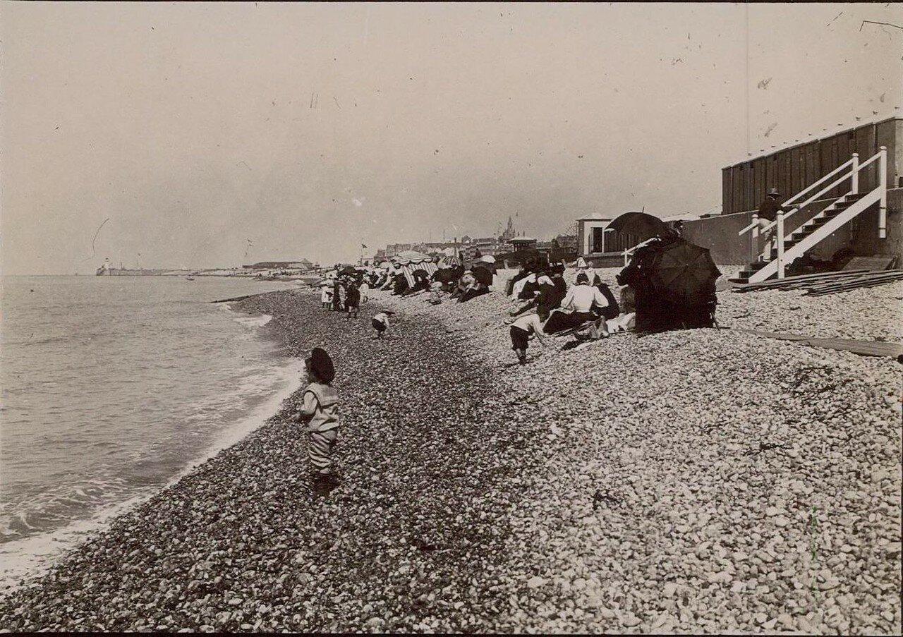 Дьеп. Пляж