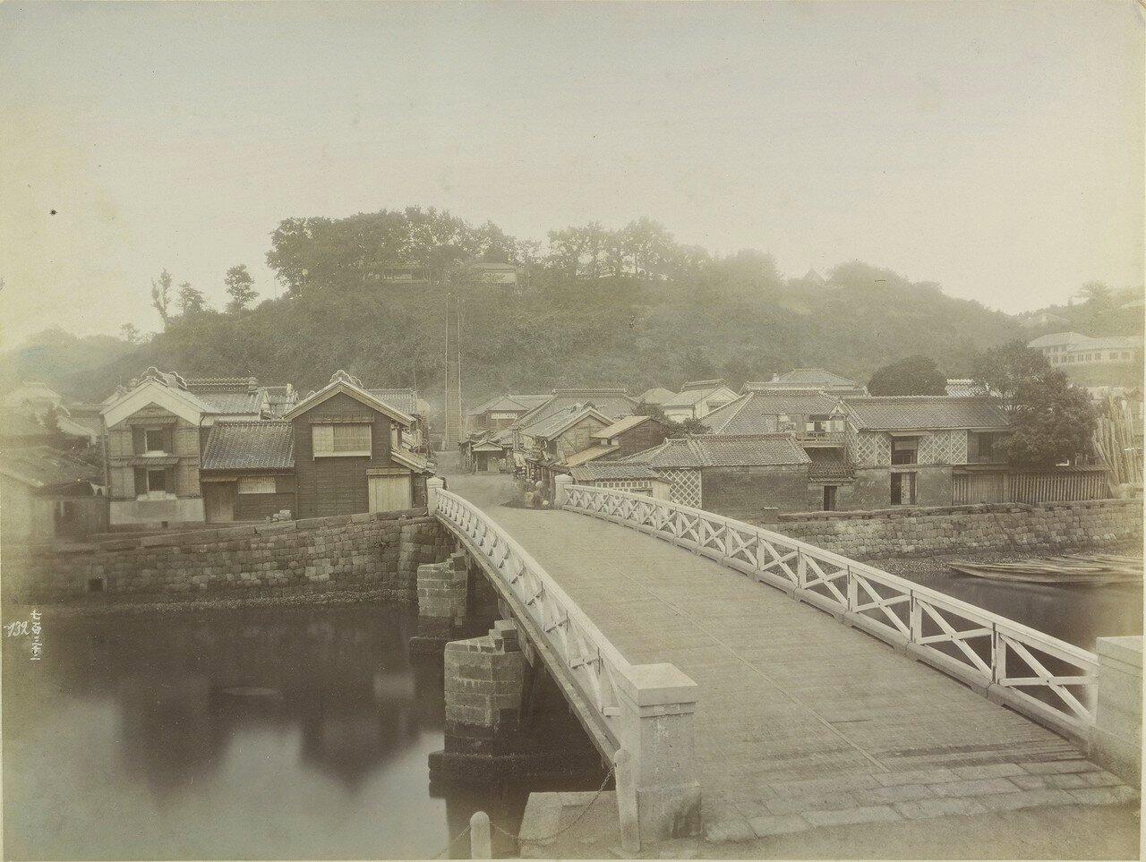 Йокогама. Мост Маэда