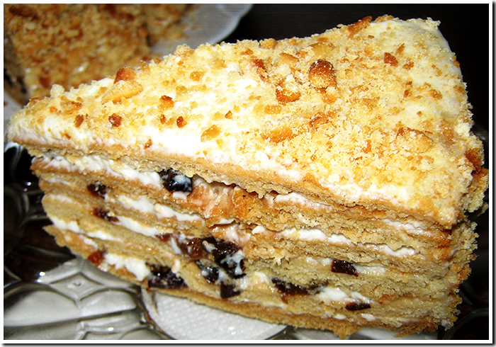 медовый торт фото рецепт