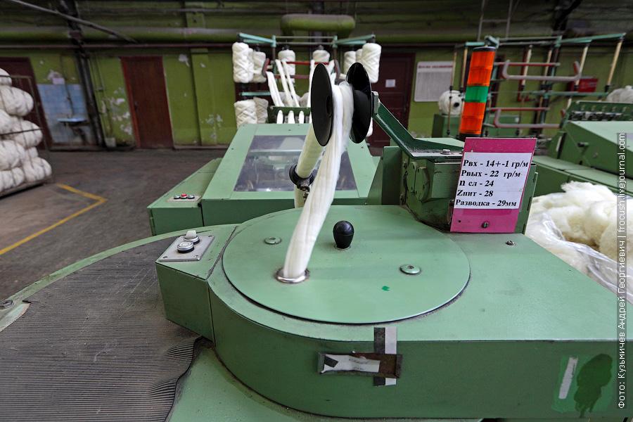 производство шерстяной пряжи