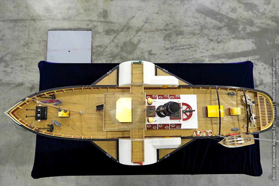 Колесный пароход «Glasgow»