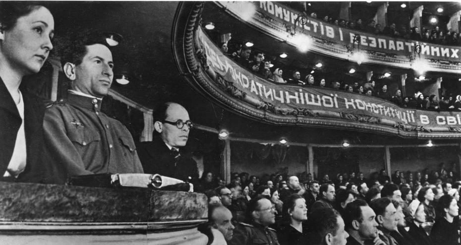 1947. Перед выборами в Верховный Совет Украинской ССР второго созыва
