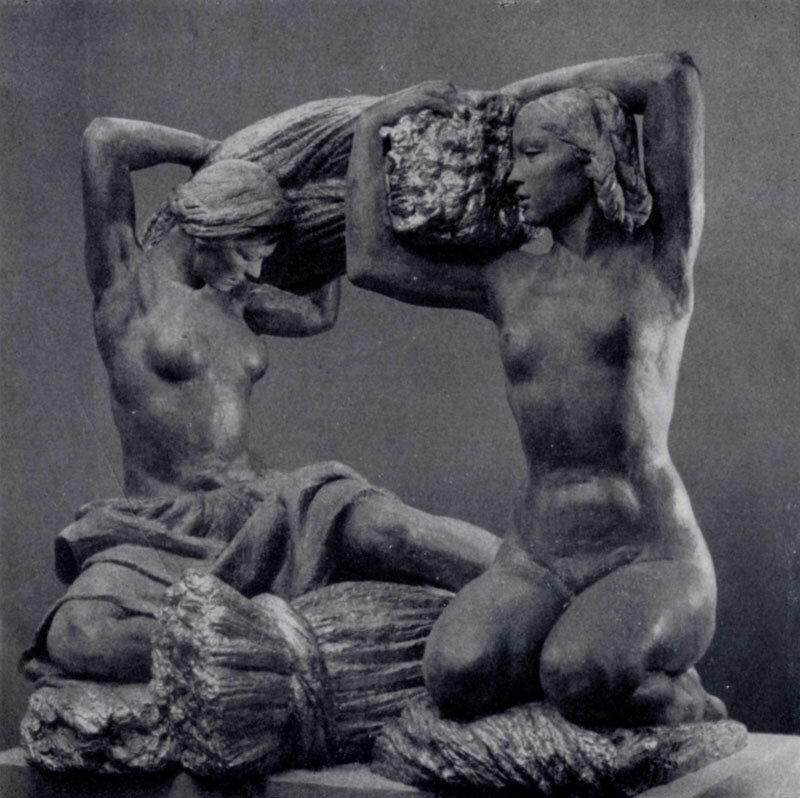 Vera Mukhina - Bread, 1939.
