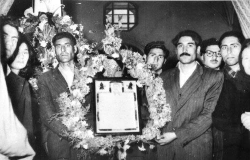 Иранцы в трауре по Сталину.