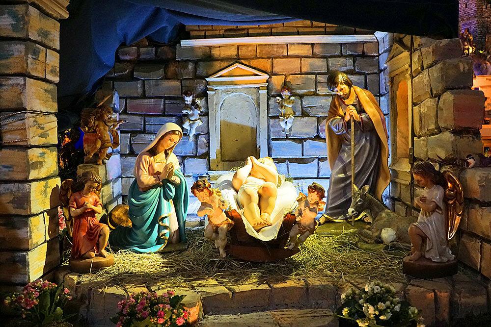 Рождественский вертеп картинки