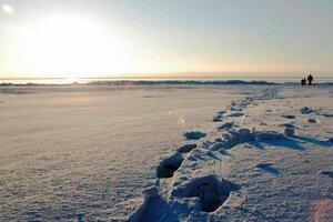 Над Латвией пролетел метеорит и упал в Рижский залив