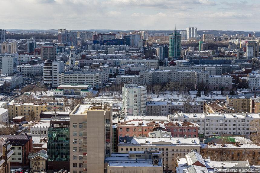Ленинский район. Екатеринбург.
