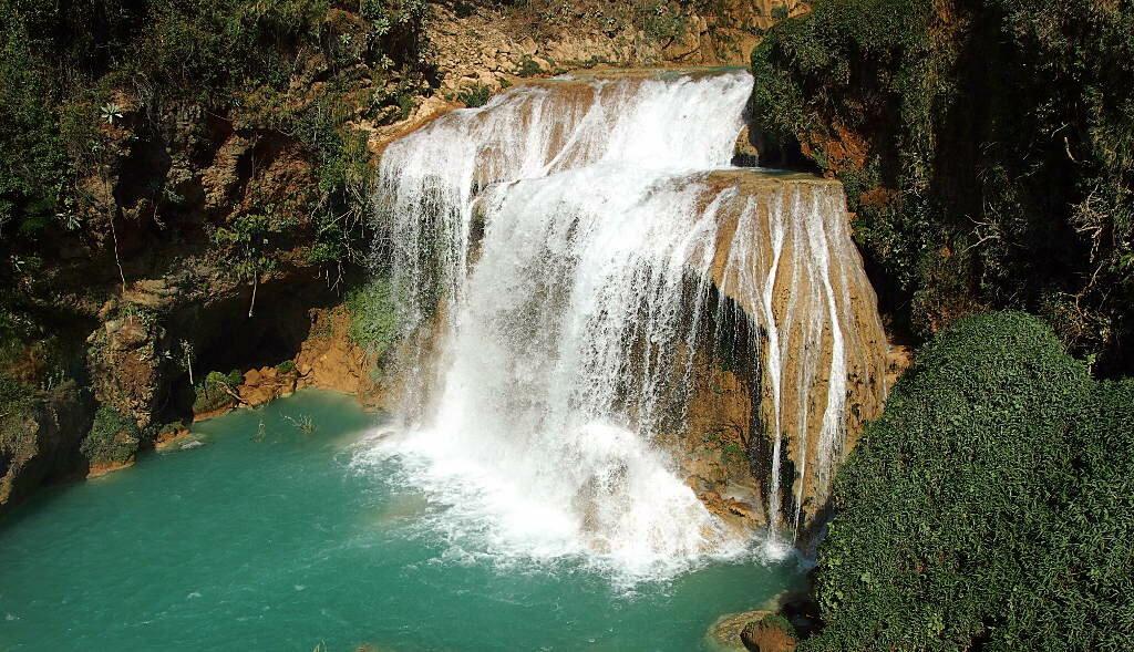 Водопад Чифлон, Мексика