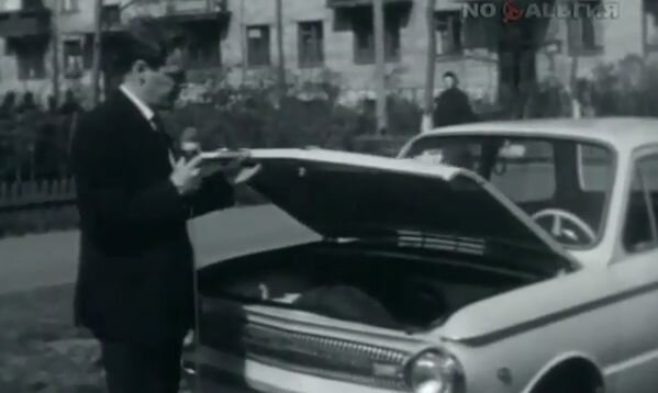 Реклама Запорожца.