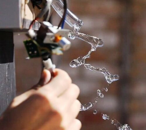 Разоблачение фокуса с водяной спиралью