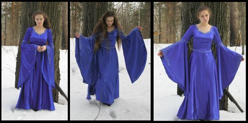 Платье фэнтези выкройка