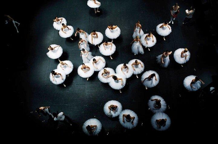 Дина Йонсен, прекрасные балерины Белграда
