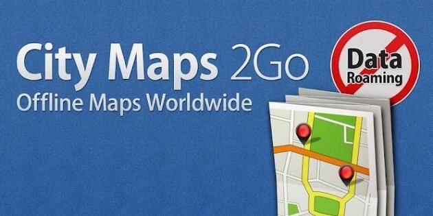 City Maps 2Go - бесплатный навигатор для iPhone и iPad