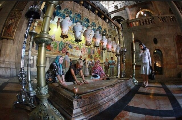 кувуклия храма гроба господня фото