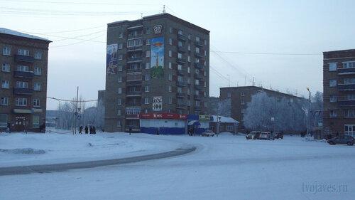 Фото города Инта №2419  Горького 1, 1а и 3 06.01.2013_12:56
