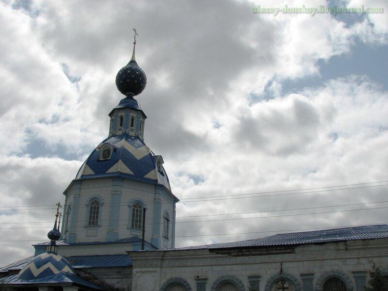 Пестяки. Церковь Успения Пресвятой Богородицы