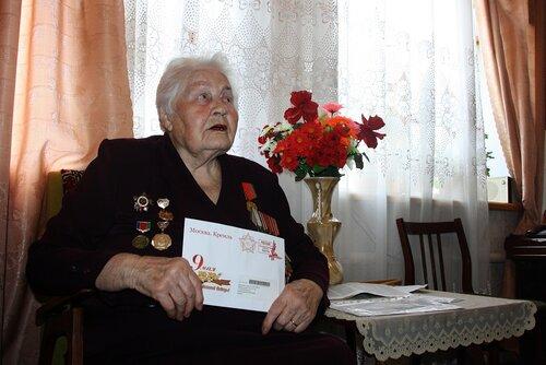 Ветеран-зенитчица