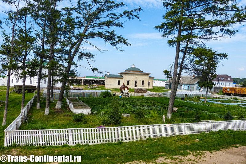 Посольский монастырь: Монастырский огород в Свято-Преображенском мужском монастыре