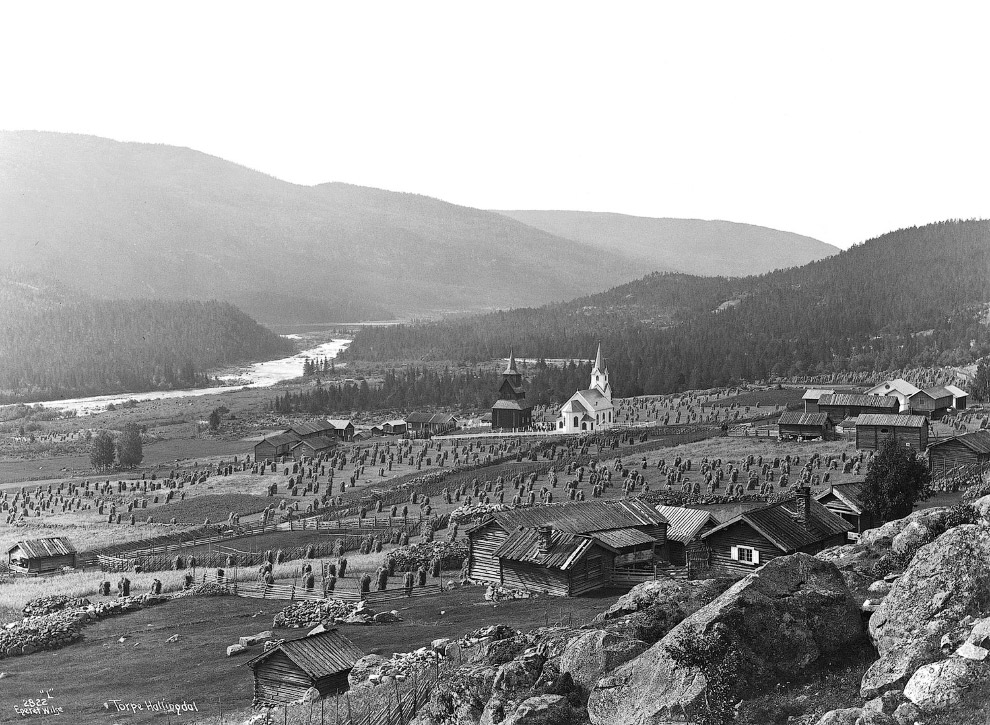 13. 1906 и 2008 года. Город Крагеро. Нажмите, чтобы увидеть изменения. (Фото Anders Beer Wilse | Osk