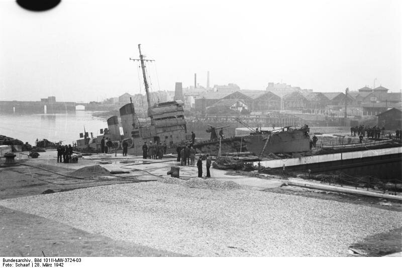 "St. Nazaire, Zerstцrer ""HMS Campbeltown"""