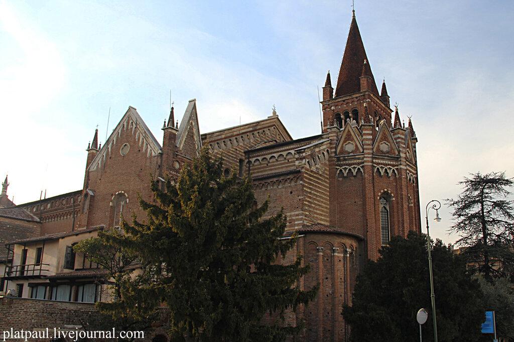 Верона. Церковь Сан-Фермо