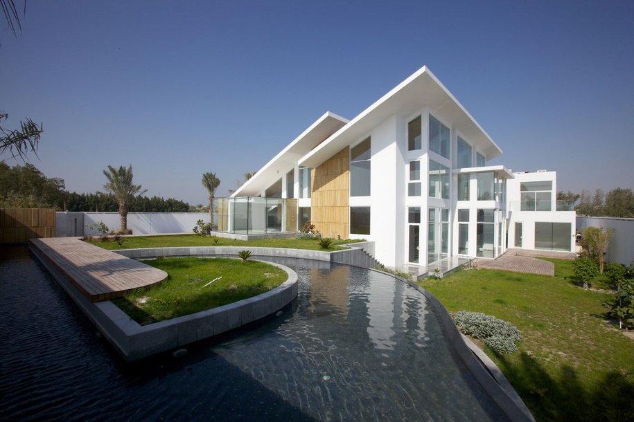 Продуманный дизайн особняка в Бахрейне