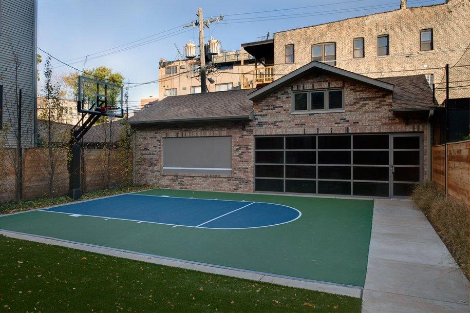 Обновленный дизайн Lincoln Park Residence в Чикаго