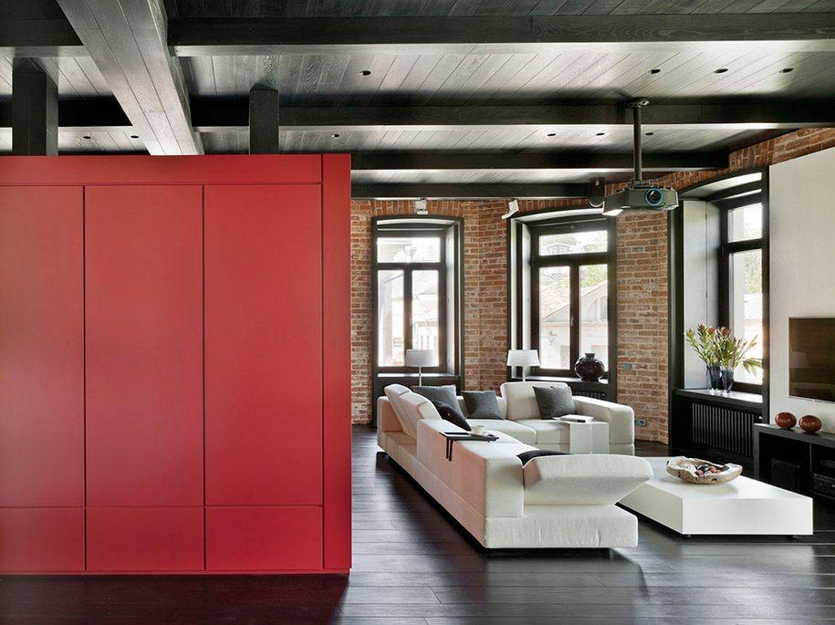 Интерьер небольшой квартиры в Москве от Studioplan