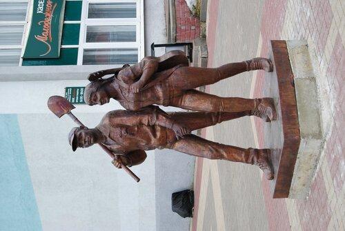 памятник стройотрядам в Белгороде, фото Sanchess