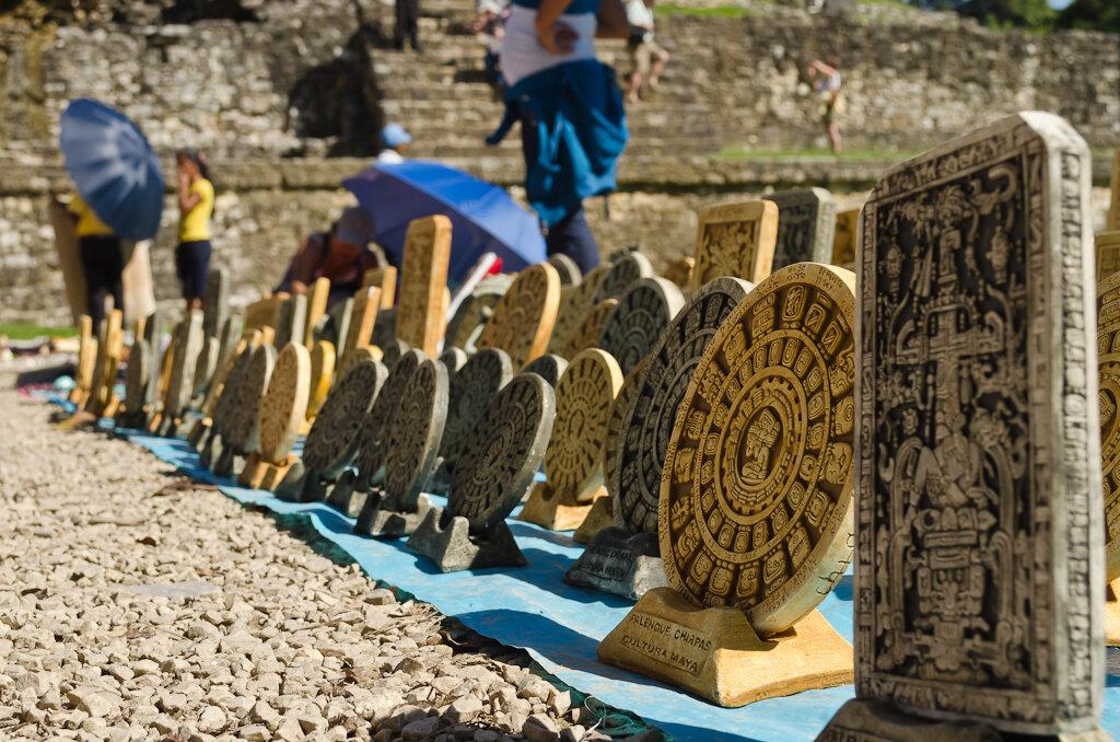 Календарь индейцев майя. Археологический комплекс Паленке. Пирамиды Майя. Мексика. Отзыв о самостоятельном туре