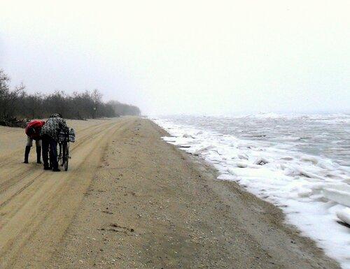 У моря ледяного, январь