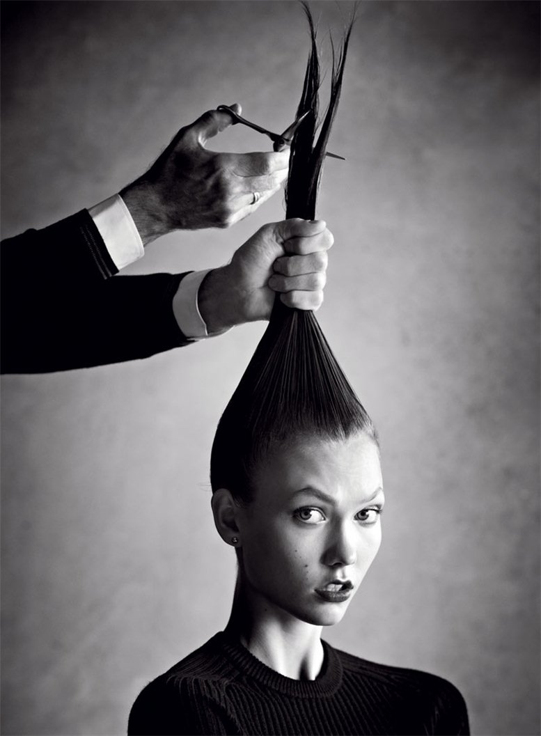 модель Карли Клосс / Karlie Kloss, фотограф Patrick Demarchelier
