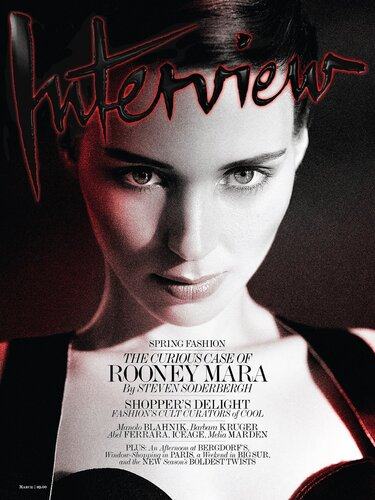 Актриса Руни Мара в журнале Interview Magazine march 2013 /  Rooney Mara by Mikael Jansson
