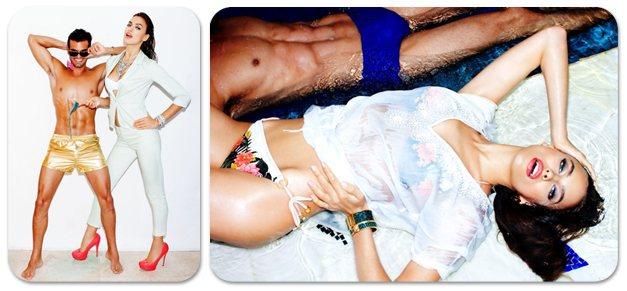 Irina Shayk / Ирина Шейк в модной одежде Dynamite, весна 2013 / фотограф Tony Kelly
