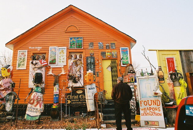 The Heidelberg Project. Детройт, США