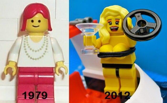 Лего тогда и сегодня...