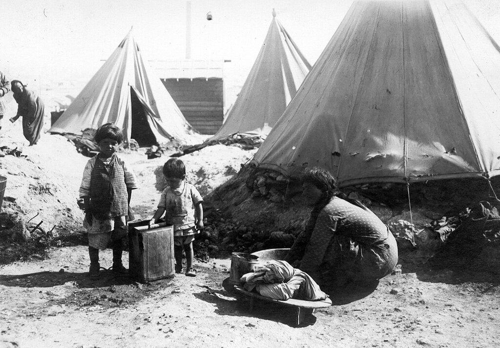 Армянские беженцы на территории Греции в период 1921-1922 гг.