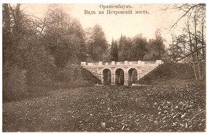 Вид на Петровский мост