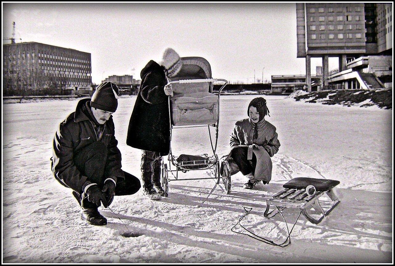 Москва, Юго-запад,конец 80-х.
