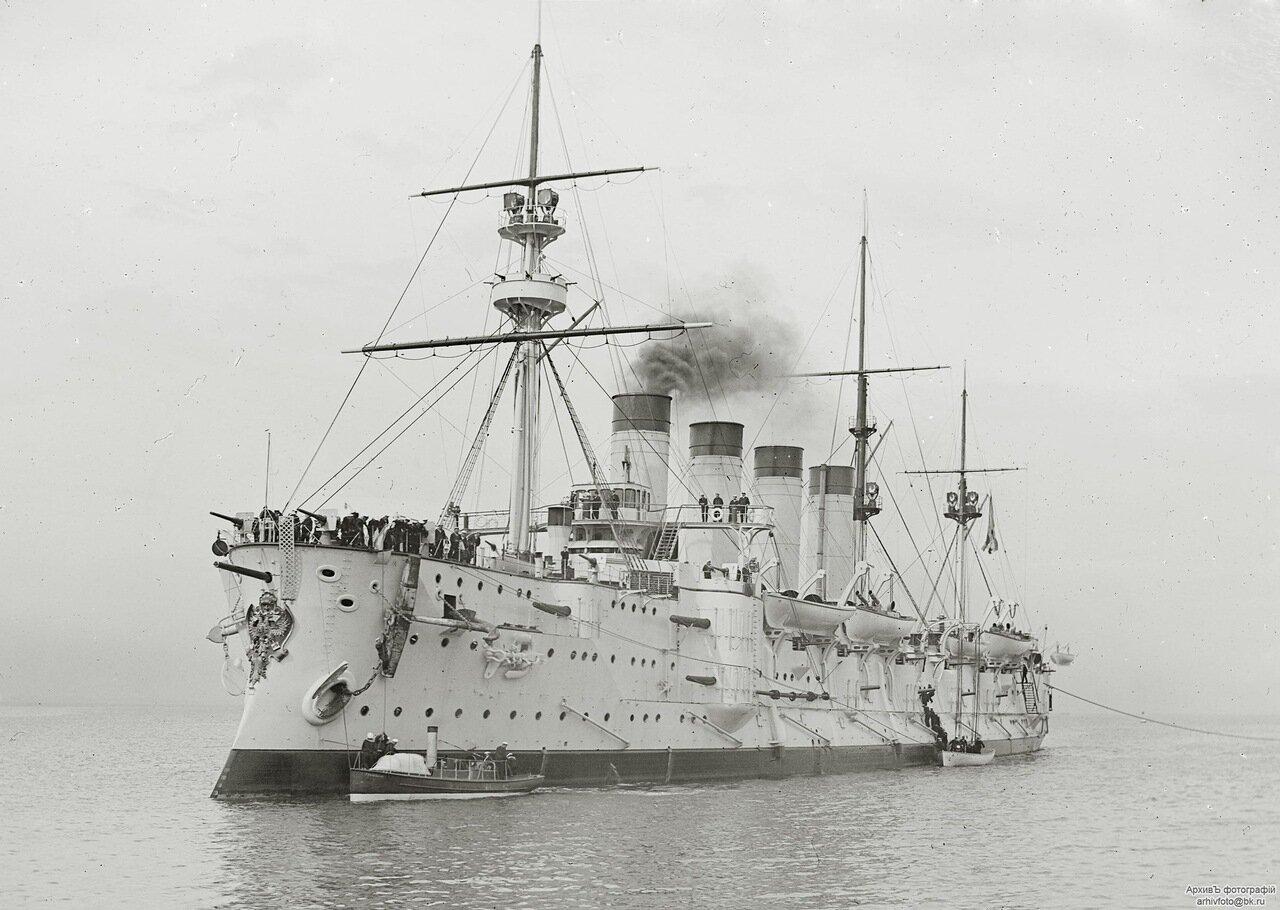 Броненосный крейсер Громобой, 1901 год.