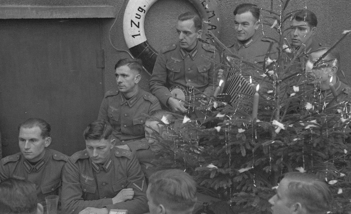 Рождество 1939.Гдыня. Немецкая армия в Польше
