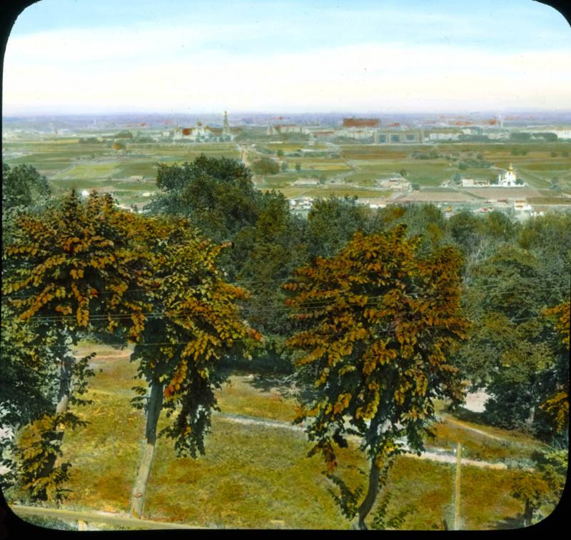 Москва. Панорамный вид на город
