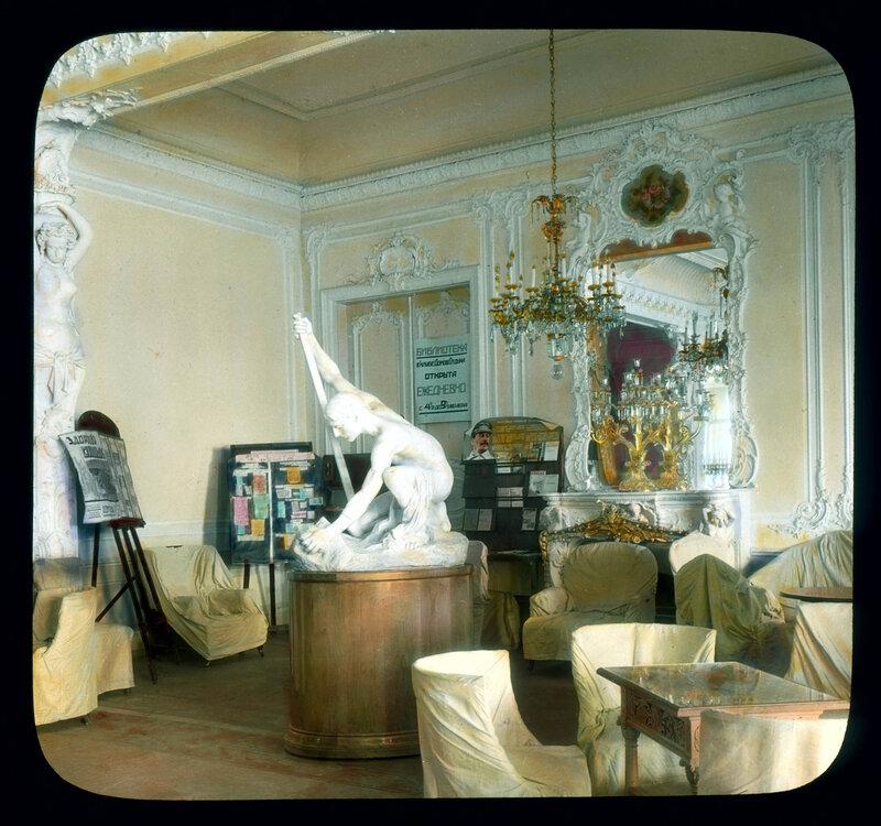 Санкт-Петербург. Интерьер Елагина дворца