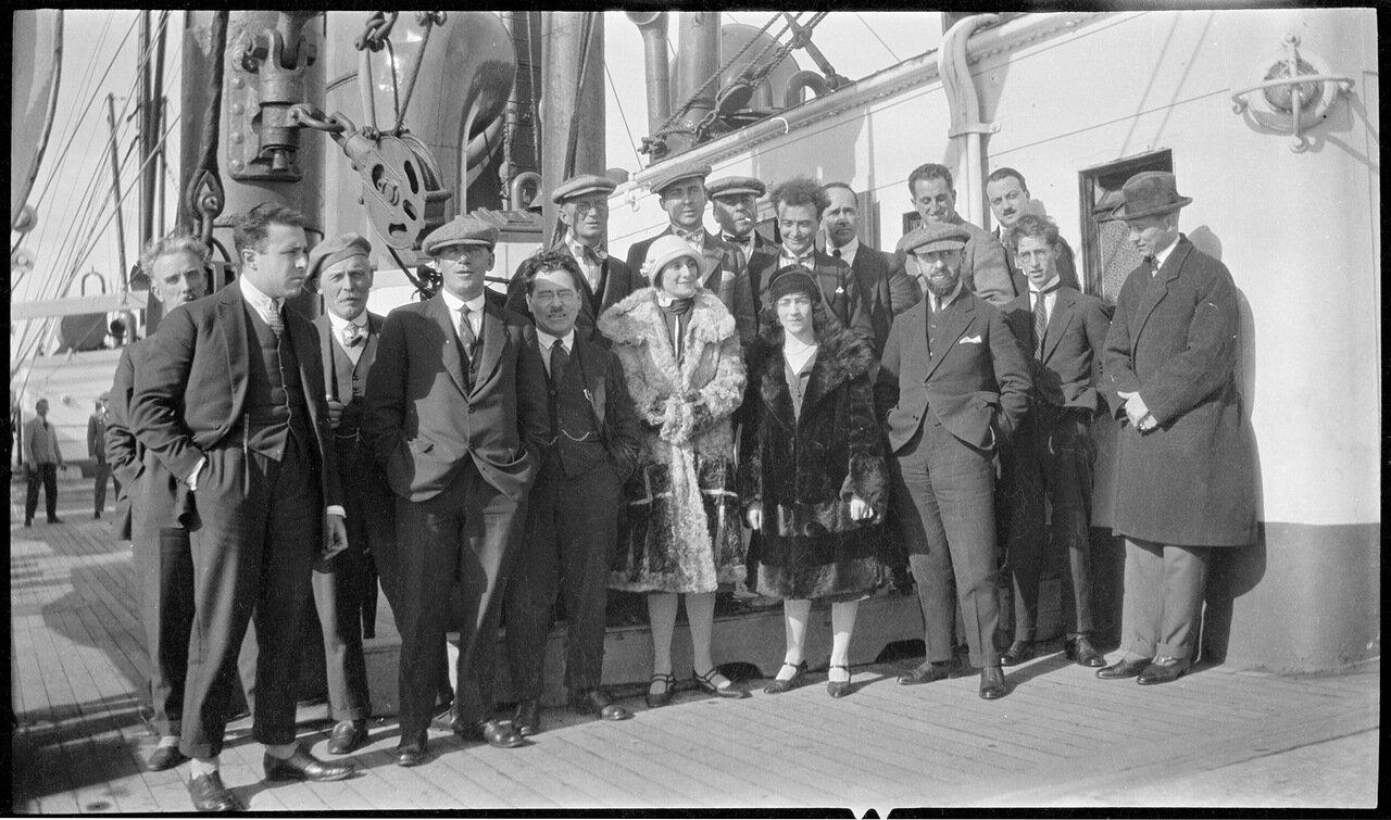 Анна Павлова во время австралийского тура, 1926