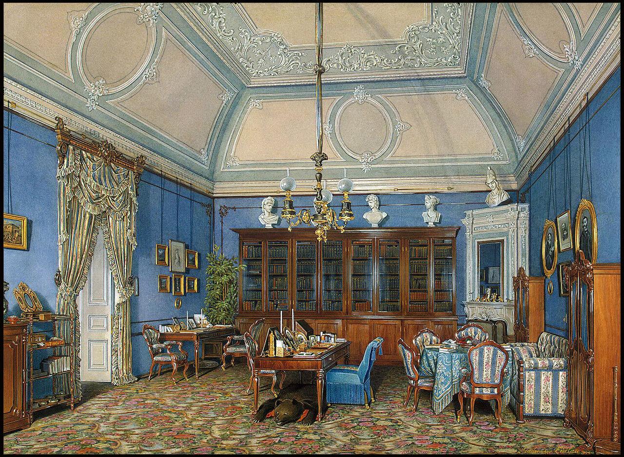 Интерьеры залов Зимнего Дворца
